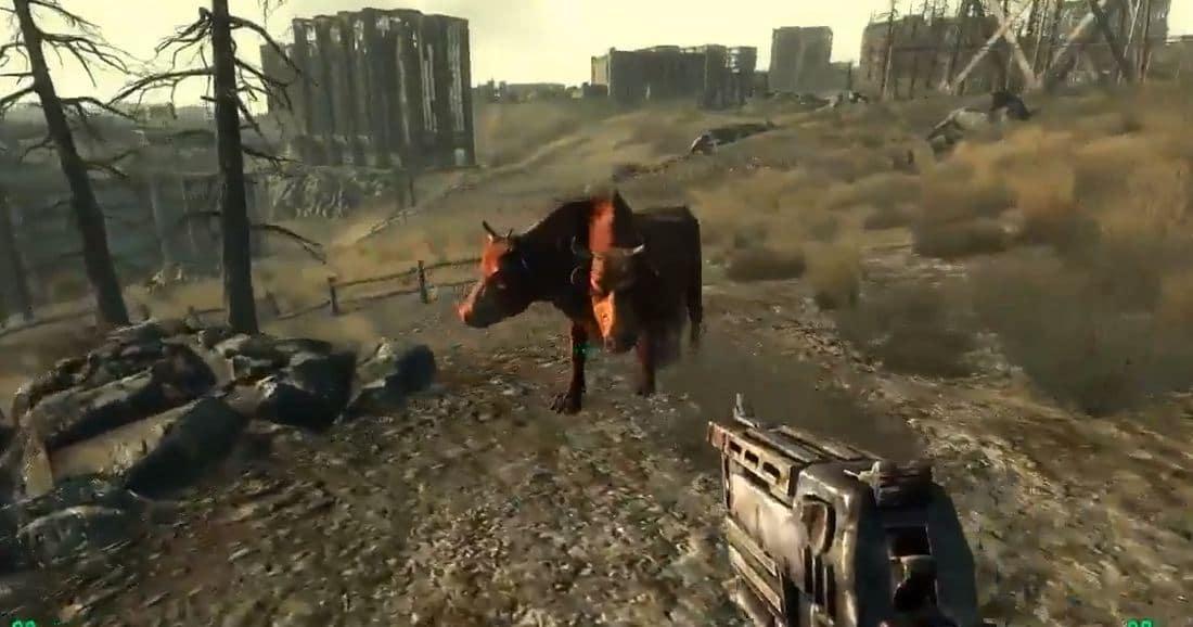 Мутанты Fallout 3: Брамин