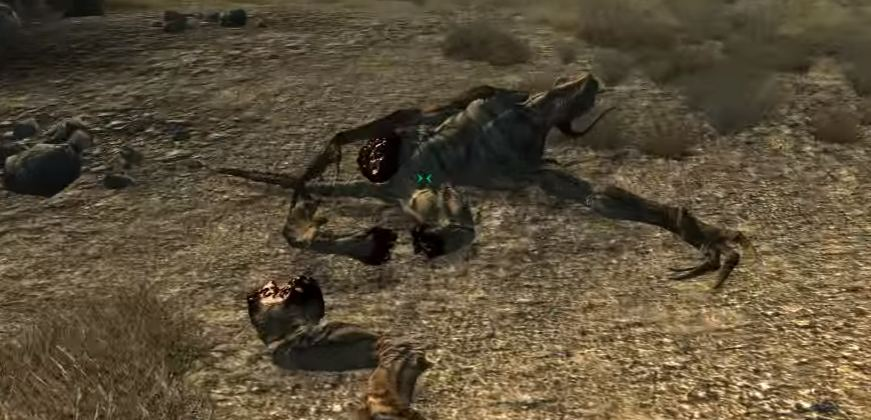 Мутанты Fallout 3: Коготь смерти