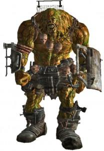 Мутанты Fallout 3: супермутант-бегемот