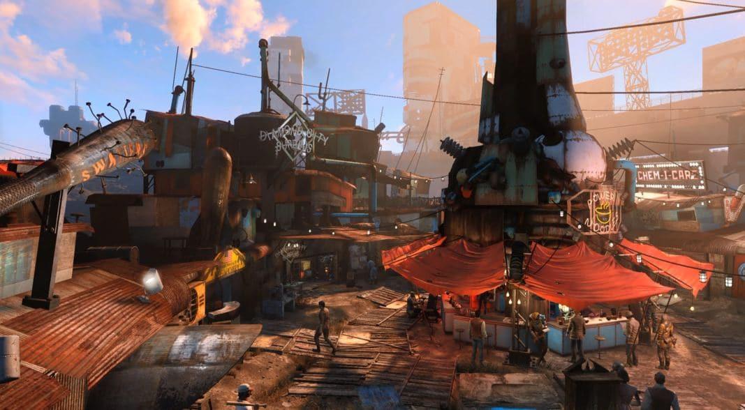 Локации Fallout 4: Даймонд-сити