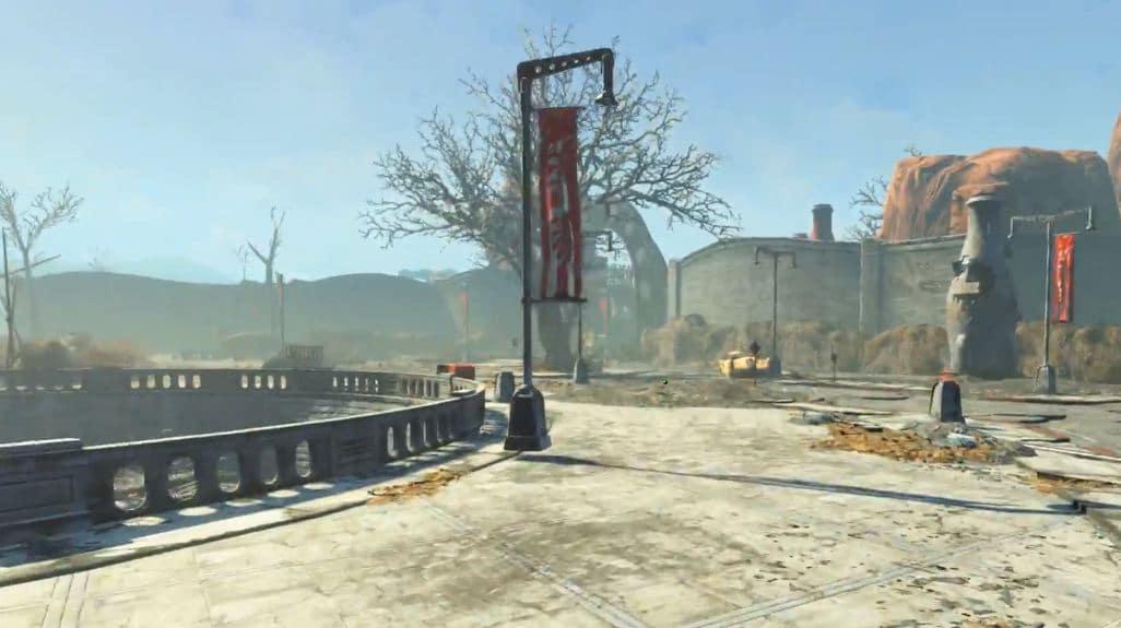 """Прохождение DLC Nuka-World: Квест """"Разборки в Сухом ущелье"""""""