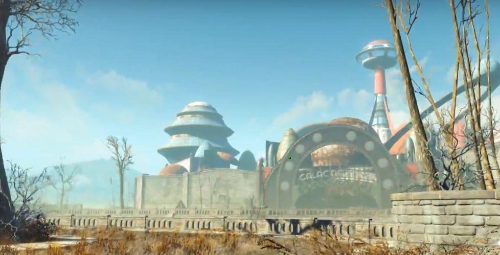 """Прохождение DLC Nuka-World: Квест """"Большой тур"""""""