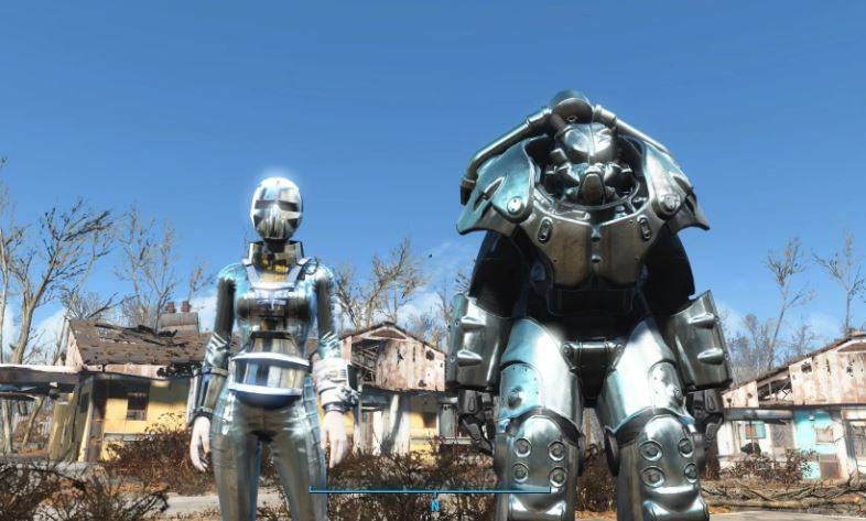 Броня синтов в Fallout 4