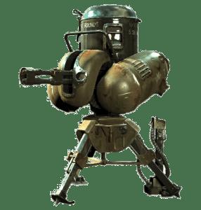 Турели в Fallout 4