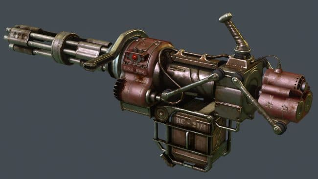 Уникальное оружие в Fallout New Vegas