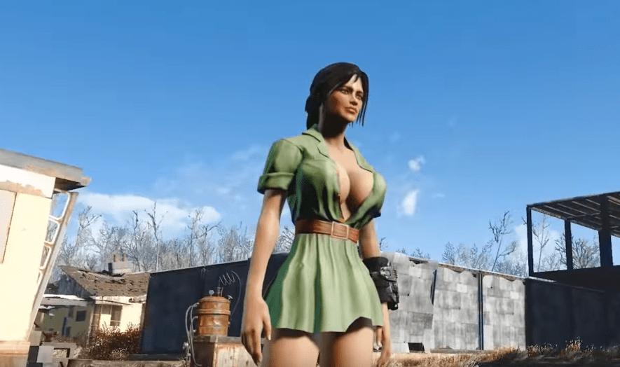 Одежда в Fallout 4