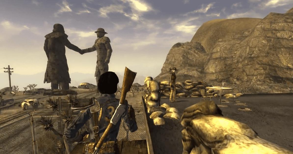Рейнджер Призрак в Fallout New Vegas