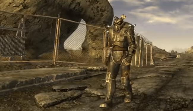 Силовая броня в Fallout New Vegas