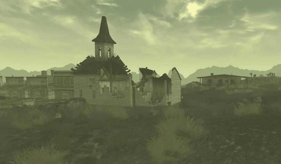 Локации Fallout New Vegas: Лагерь Серчлайт