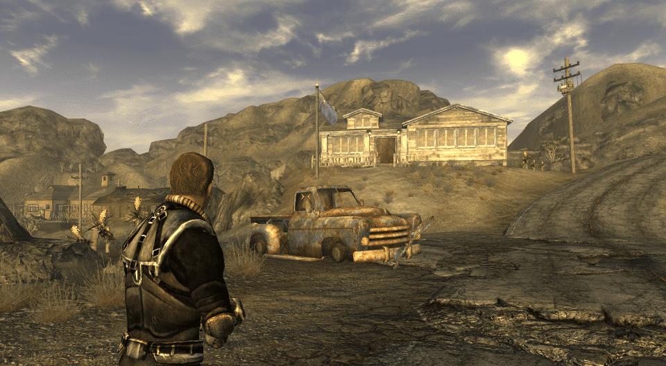 Персонажи Fallout New Vegas: Док Митчелл