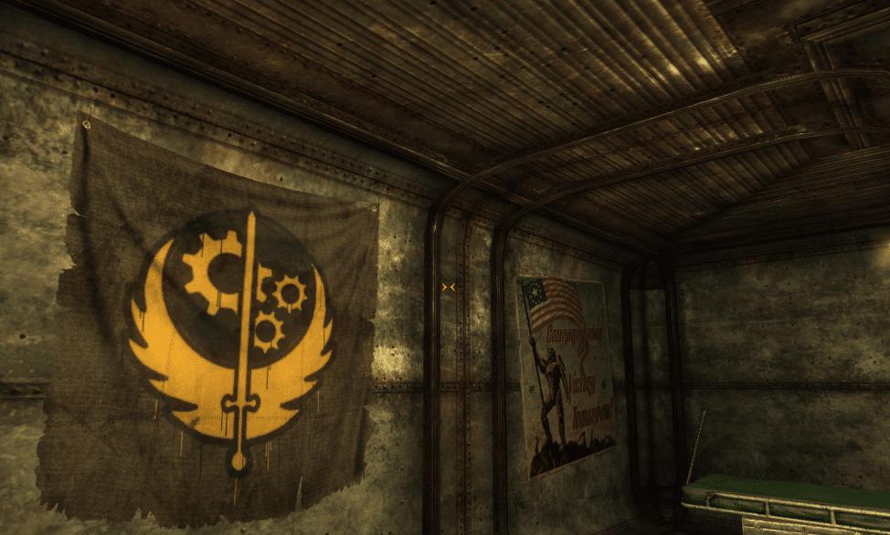 Тайная квартира Братства Стали в Fallout New Vegas